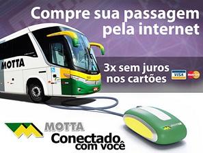 WWW.MOTTA.COM.BR, VIAÇÃO MOTA, PASSAGENS