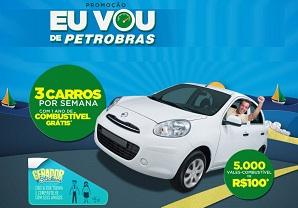www br com br promo quero me cadastrar PETROBRAS EU VOU DE PETROBRAS
