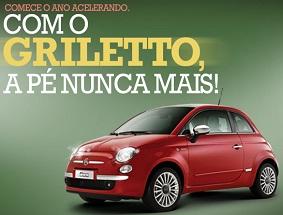 PROMOCAOFIAT500.GRILETTO.COM.BR, PROMOÇÃO FIAT 500 GRILETTO