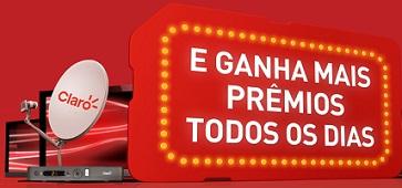 PROMOÇÃO TV GRÁTIS TODO DIA CLARO SMS 4040
