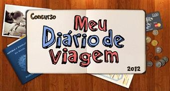 WWW.MEUDIARIODEVIAGEM.COM.BR, CONCURSO MEU DIÁRIO DE VIAGEM 2012