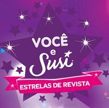 WWW.VOCEESUSI.COM.BR, CONCURSO VOCÊ E SUSI, ESTRELAS DE REVISTA