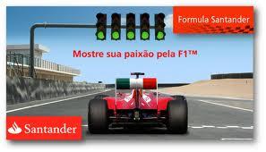 WWW.YOUTUBE.COM/FORMULASANTANDER, PROMOÇÃO FÓRMULA SANTANDER