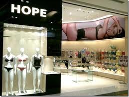 WWW.HOPELINGERIE.COM.BR, LOJAS HOPE LINGERIE
