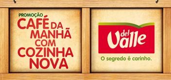 WWW.CAFEDAMANHADELVALLE.COM.BR, PROMOÇÃO CAFÉ DA MANHÃ DEL VALLE