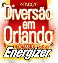 WWW.DIVERSAOCOMENERGIZER.COM.BR, PROMOÇÃO DIVERSÃO EM ORLANDO COM ENERGIZER