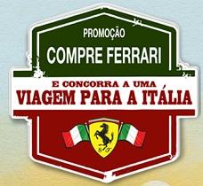WWW.GPFERRARI.COM.BR, PROMOÇÃO COMPRE FERRARI E VIAJE PARA A ITÁLIA