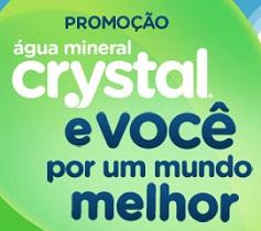 WWW.PROMOCAOCRYSTAL.COM.BR, PROMOÇÃO ÁGUA MINERAL CRYSTAL