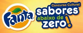 WWW.SABORESABAIXODEZERO.COM.BR, CONCURSO CULTURAL SABORES ABAIXO DE ZERO FANTA