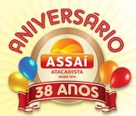 www.aniversarioassai.com.br, Promoção Aniversário Assaí 38 Anos