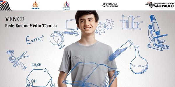 WWW.VENCE.SP.GOV.BR, VENCE REDE DE ENSINO MÉDIO TÉCNICO