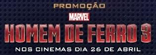 PROMOÇÃO CHEETOS HOMEM DE FERRO 3