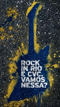 WWW.CVC.COM.BR/ROCKINRIO, PACOTES CVC ROCK IN RIO 2013