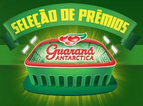 WWW.GUARANA.COM.BR, PROMOÇÃO GUARANÁ ANTARCTICA SELEÇÃO DE PRÊMIOS