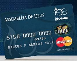 WWW.CARTAOCGADB.COM.BR, ASSEMBLÉIA DE DEUS MASTERCARD