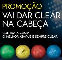WWW.CLEARANTICASPA.COM.BR, PROMOÇÃO VAI DAR CLEAR NA CABEÇA - BOLA DO NEYMAR