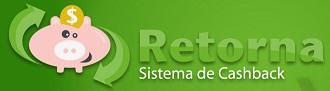 WWW.RETORNA.COM.BR, RETORNA CASHBACK, COMO FUNCIONA