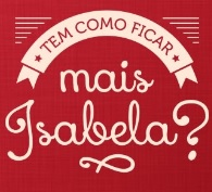 WWW.ISABELA.COM.BR, ISABELA PRODUTOS, RECEITAS