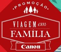 WWW.VIAGEMEMFAMILIACANON.COM.BR, PROMOÇÃO VIAGEM EM FAMÍLIA CANON