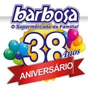 WWW.ANIVERSARIOBARBOSA.COM.BR, PROMOÇÃO ANIVERSÁRIO SUPERMERCADO BARBOSA 38 ANOS