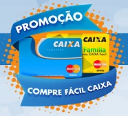 WWW.COMPREFACILCAIXA.COM.BR, PROMOÇÃO COMPRE FÁCIL CAIXA MASTERCARD