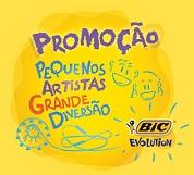 WWW.PEQUENOSARTISTASBIC.COM.BR, PROMOÇÃO PEQUENOS ARTISTAS BIC EVOLUTION