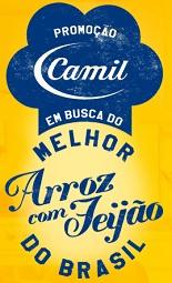 WWW.CAMIL.COM.BR/PROMO, PROMOÇÃO CAMIL MELHOR FEIJÃO COM ARROZ